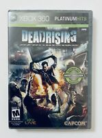 XBOX 360 - Dead Rising Platinum Hits Edition (2006) New Sealed