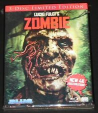 lucio fulci's ZOMBIE usa blu-ray NEW 4k restoration LIMITED 3-D SLIPCASE cover c
