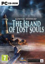 Misterios escalofriantes: la isla de almas perdidas (Pc Dvd) Nuevo Sellado
