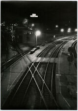 Fine Art Industrial Railroad Train Large Format NYC Photo Vintage Alfred Statler
