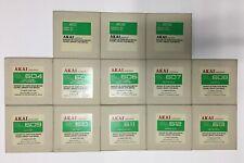 Original Sound Library Disks for Akai MPC 60(set of 13)