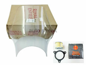 Royal Enfield Genuine Wind Shield With Oil Filter For Himalayan Bike