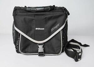 """Adorama Slinger Camera Sling Bag Backpack - Black 10""""x10""""x4"""""""
