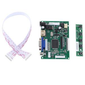 PiMI VGA 2AV LVDS LCD-Display-Controller-Platine Pi-Kit für LCD-Monitor FE