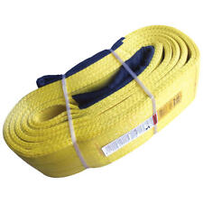"4"" x 12' Nylon Lifting Sling Eye & Eye 3 Ply Super Duty"