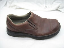 Merrell World Passport Redwood brown slip on Mens casual loafers shoes sz 8M