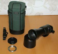 Sigma 135-400mm APO f4.5-5.6 for Nikon with Canon mount adaptor