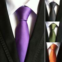 Classic Formal Business 100% New Jacquard Woven Silk Men's Tie Necktie Wedding