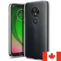 For Motorola Moto G7 Play Case - Premium Clear Soft TPU Transparent Back Cover