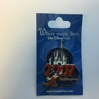WDW - 2007 Sorcerer Mickey and Cinderella Castle Disney Pin 51579