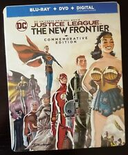 JUSTICE LEAGUE THE NEW FRONTIER - COMMEMORATIVE EDITION BluRay Limited STEELBOOK
