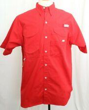 7904-i Mens Columbia Pfg Shirt Size Large Alabama Crimson Tide Fishing Moderate Price Activewear