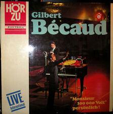Französische Musik & Chansons Vinyl-Schallplatten aus Frankreich mit 33 U/min