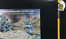 Jaguar Models 1/35 Trench Defenders, Sector 3 Set C (3 Figures and base) 63607