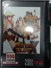 METAL SLUG X - Neo Geo AES - NCI CONVERT NUMÉROTÉE 13 NEUVE NTSC-US.BRAND NEW