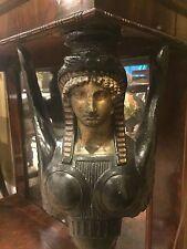 Console France Circa 1805-1815 French Empire Napoleon Mahogany Egyptian Sphinx
