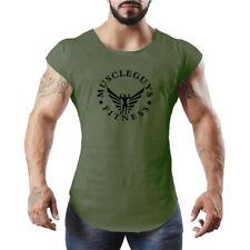 Men'S Bodybuilding Gym Vests Fitness Sport Workout Exercise Tank Tops Clothes