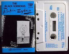 The Black Sorrows (Joe Camilleri) `Rockin' Zydeco`. Cassette 1984  Rock, Folk