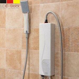 Mini Elektro Warmwasserbereiter Sofort Heizung Bad Küche Durchlauferhitzer 3000W