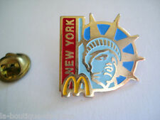 PINS STATUE DE LA LIBERTE MC DONALD NEW YORK RESTAURANT SIGNE ARTHUS BERTRAND