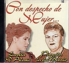 Lupita Dalessio y Paquita La Del Barrio Con despecho de Mujer CD No Plastic Seal