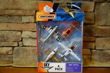 Matchbox Sky Busters 4 Pack MBX Metal J4734 Model Year 2006 Collection