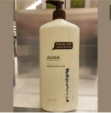 AHAVA DEADSEA WATER MINERAL BODY LOTION 24oz / 750ml LARGE LIMITED EDITION SIZE!