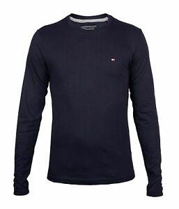 Tommy Hilfiger Longsleeve Shirt für Herren Rundhals Ausschnitt C-neck