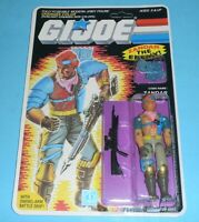 *RECARDED* 1986 GI Joe Zandar v1 Dreadnok Complete Sealed *CUSTOM File Card Back
