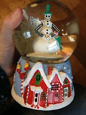 NEW NIGHTMARE BEFORE CHRISTMAS JACK SKELLINGTON MUSICAL SNOWGLOBE FREE SHIPPING
