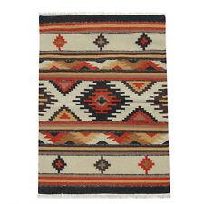 New Afghan Oriental Handwoven Ghazni Wool Kilim Carpet Area Rug 3 x 5 Ft