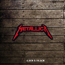 Metallica Music Band Embroidered Iron On Sew On Patch Badge For Clothes Bags Etc