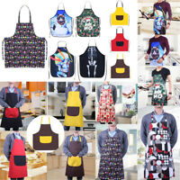 Unisex Women Men Home Kitchen Bib Aprons Comic Cooking Costume Apron Funny Gift