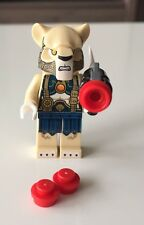 New LEGO CHIMA LION TRIBE LIONESS with weapon, split from set: 70229