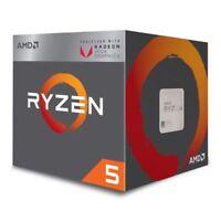 NEW! Amd Ryzen 5 2400G Cpu With Wraith Cooler Am4 3.6Ghz Quad Core 65W 6Mn Cache