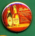Buffalo Co-Op Brewing STYLE RP *PIN*  Buffalo NY  Beer Advertising