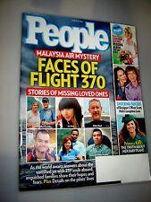 People Magazine (March 31, 2014) FLIGHT 370 PRINCESS KATE~Mick Jagger JANE FONDA