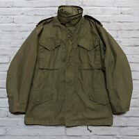 Vintage US Military M-65 OG-107 Field Jacket Size S Vietnam
