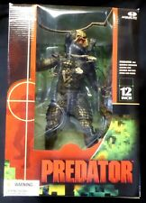 """Predator Movie 12"""" Boxed Action Figure Deluxe Set New 2004 McFarlane Amricons"""