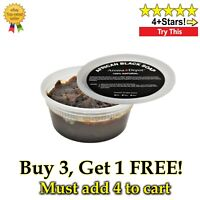8 oz Raw African Black Soap Paste Stretch Marks Body & Face Wash For Acne Scars