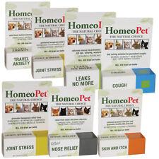 Homeopet Full Range of All Natural medicines for Dog Cat Whelping & Nursing Safe