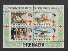 Grenada - 1970, Centenary pf Red Cross sheet - M/M - SG MS427