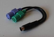 03-24-00603 DELL 0D4002 PS/2 Splitter für Tastatur und Maus Y-Splitter