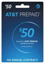 At&T Prepaid $50 Preoladed Sim Card 8Gb Data (2-3 Days shipping )