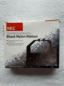 NEC Pinwriter P60/P70 and P6plus/P7plus Black Nylon Ribbon neuwertig