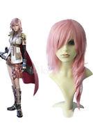 Final Fantasy Lightning Pink Cosplay Wig