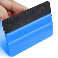 new Car Film Wrapping Tool Blue Scraper Squeegee W/Felt Edge Styling Sticker Hot