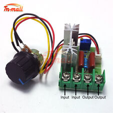50-220V 2000W SCR Voltage Regulator Switch Motor Speed Controller Potentiometer