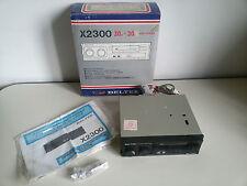 Autoradio Vintage BELTEK X2300 Cassette - GIACENZA NUOVA BOX CAR Player NEW NOS