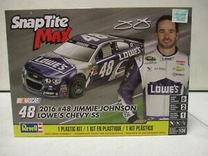 Revell Snap Tite Max 2016 Jimmie Johnson Lowes Chevy SS 1/24